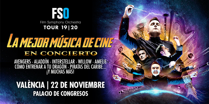 València, Valence Conference Centre, movies, movie soundtracks